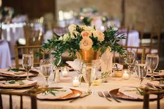 These amazing arrangements from The Petal Post were drool worthy! A collection of antique gold vases found all around the city were the perfect accent for these arrangements. Not to mention the fabulous set-up by Spice of Life Catering was stunning! We love working with all of the best vendors from around the city!
