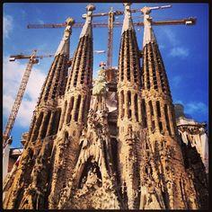 Sagrada Familia. No more words...a complete MUST SEE