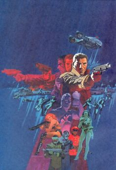 Blade Runner by Jim Steranko