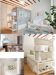 """""""We wanted to show people how they could live in a small space without having to feeling like they were living in miniature,"""" says designer Lyndsay Caleo of Brooklyn Home Company."""