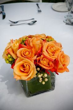 Orange roses for #fall