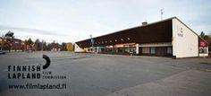 Bus station in the municipality of Sodankylä, Finnish Lapland. Photo by Jani Kärppä #arcticshooting #filmlapland #finnishlapland