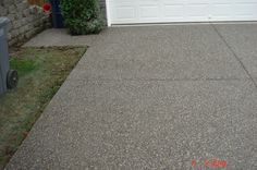 Exposed Aggregate Driveway    http://jmconstructions.weebly.com/picture-gallery.html#