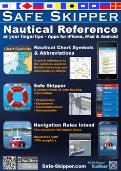 Skipper-A5 sailing & nautical apps for iPhone iPad Android