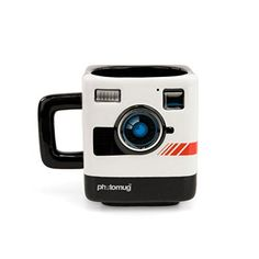 Tea Coffee Mug Cup - Retro Camera Mustard and Co.