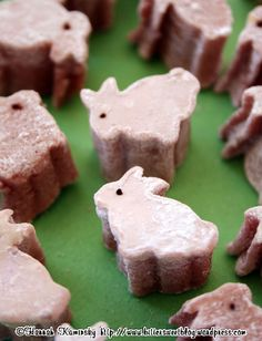Vegan Peeps Recipe: Hannah Kaminsky (of BitterSweet) made these adorable peepers