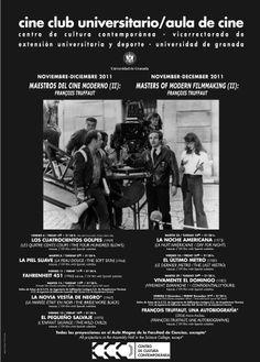 MAESTROS DEL CINE MODERNO ( II ): FRANÇOIS TRUFFAUT. Noviembre -Diciembre 2011.