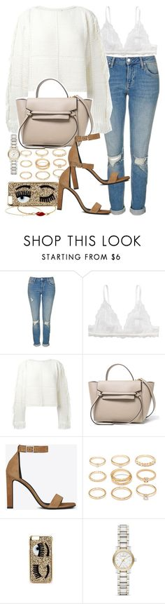 """Sin título #3804"" by hellomissapple on Polyvore featuring moda, Topshop, Monki, 3.1 Phillip Lim, Yves Saint Laurent, Forever 21, Chiara Ferragni, Burberry y Minor Obsessions"