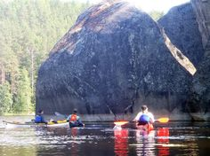 The National Park of Kolovesi, Finland