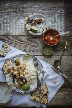 Tandoori Chicken with Caraway Jasmine Rice.  Inspired by The Hundred-Foot Journey Movie – In Theaters August 8th
