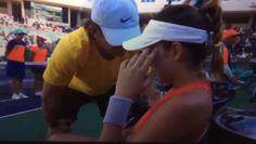 Vídeo: Tenista sufre crisis nerviosa en pleno partido...