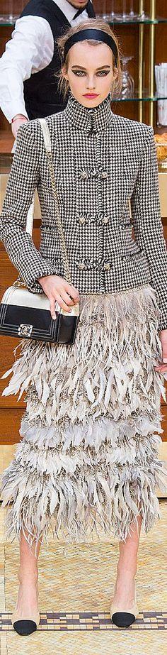 #PFW Chanel Fall 201