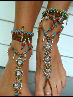 LindoBarefoot Jewelry / Barefoot SandalsMore Pins Like This At FOSTERGINGER @ Pinterest