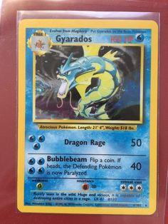 Pokemon Card Gyarados 6/102 MINT Base Set