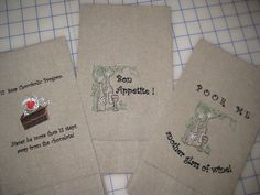 embroidered linen hand towels By SewHealing