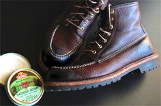 protect & clean leather boots