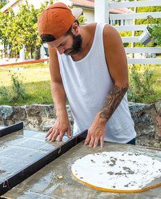 Se hvordan du bygger utekjøkken steg for steg - viivilla.no Outdoor Kitchen Plans, Tropical Kitchen, Bra Hacks, Barbacoa, Garden Inspiration, Home Crafts, Grilling, Bbq, Projects To Try