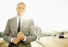 Jason Statham  Photo by Jeff Lipsky for French GQ.