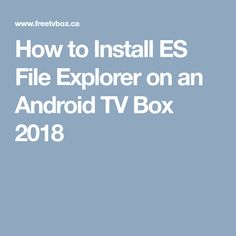 338 Best Android tv box images in 2019   Android, App, Apps