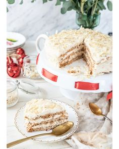 Vanilla Cake, Bakery, Cheesecake, Food And Drink, Cooking Recipes, Sweet, Desserts, Christmas, Polish
