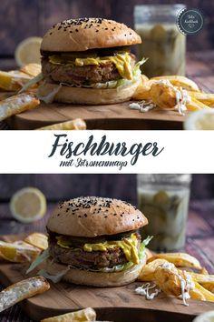 Dass Burger eins meiner Lieblingsessen ist, brauche ich wohl nicht zu erwähnen. Und auch diese schnelle Fischburger Variante finde ich grandios. Ganz schnell aus einer Dose Thunfisch zubereitet. #burger #burgers #fischburger #fishburger #fish #thunfisch #zitronenmayonnaise #mayo #mayonnaise #lemon #rezept #kochen