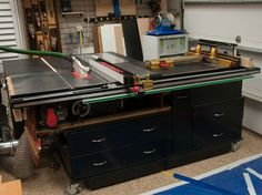 Amazing Table Saw Outfeed Tables - Table Saw Central