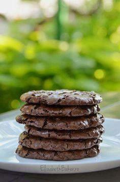 Chocolate cookies Chocolate Cookies, Baking, Desserts, Food, Tailgate Desserts, Deserts, Chocolate Biscuits, Bakken, Essen