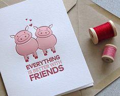 Cute Pig Couple