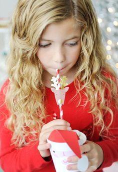 Reindeer Straws - Ad