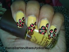 The Leopard Print Nail Art with an Oomph!