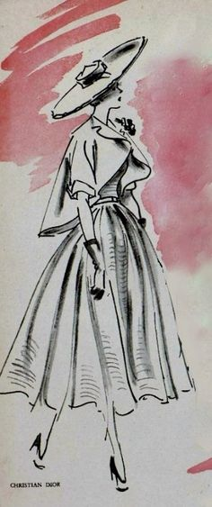 1949 Dior  with <3 from JDzigner www.jdzigner.com