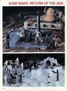 Vintage Star Wars Kenner Action-Figure Playsets