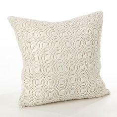 Shop for Brisbane Collection Smocked Design Down Filled Cotton Throw Pillow. Free Shipping on orders over $45 at Overstock.com - Your Online Home Decor Outlet Store! Get 5% in rewards with Club O! - 18975562