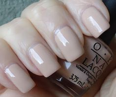 OPI: Don't Pretzel My Buttons. I like the neutral colour.