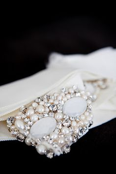 I adore any sort of embellishment but this is really gorgeous!