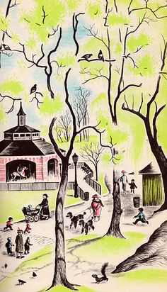 City Springtime - written by Helen Kay, illustrated by Barbara Cooney (1962).