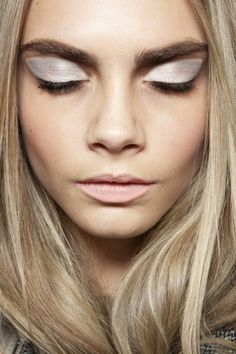 silver fox // #silver #eyeshadow