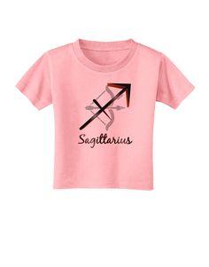 TooLoud Sagittarius Symbol Toddler T-Shirt