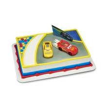 Bakery Supplies Cars 3 Ahead of The Curve Cake Decorating Topper 3rd Birthday Cakes, 4th Birthday, Birthday Ideas, Hot Wheels Birthday, Cake Kit, Bakery Supplies, Order Cake, Cars 1, Easy Cake Decorating