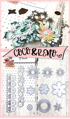 ONLY $19.99 for this set of flower cutting dies valued at OVER $40.00!  These cutting dies are perfect for cardmaking, crafting, and scrapbooking.   Coco & Reno cutting dies work with any cutting die machines including sizzix big shot, cricuit cuttlebug, spellbinders, etc.  DIY cards, cardmaking, homemadecards, bag toppers, rosettes, DIY rosettes, DIY paper rosettes, Maggie Holmes, Crate Paper. Big Paper Flowers, Paper Flowers Wedding, Paper Flower Backdrop, Giant Paper Flowers, Paper Rosettes, Bag Toppers, Paper Flower Tutorial, Crate Paper, Flower Template
