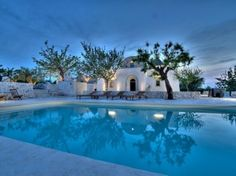 Moorish Villa, luxury trulli holiday in Puglia (Apulia) Night Swimming, Swimming Pools, Foto Flash, Bari, Patio Interior, Puglia Italy, Rooftop Deck, Moorish, Portugal