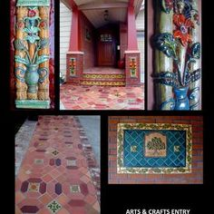Stonelight Tile - San Jose, CA, United States. Stonelight Tiles Arts & Crafts Custom Tiles