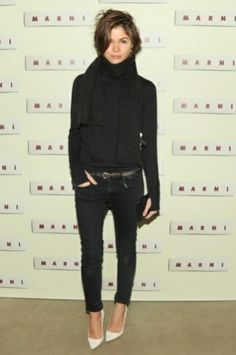 Emily Weiss- sophisticated chic. Emily sticks to beautiful classic pieces with an urban twist.