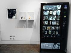 Exhibition Install, 'Mighty Small' 2013