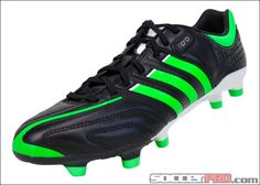 adidas adipure 11Pro TRX FG Soccer Cleat - Black with Green Zest....$143.99
