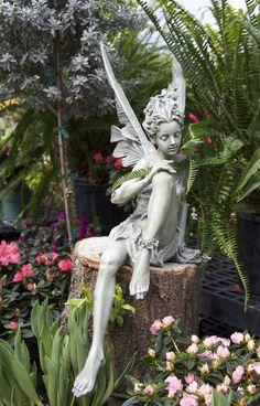 Always Remarkable Fairy Garden Statues : Fairy Statues For The Garden.  Fairy Statues For The Garden.