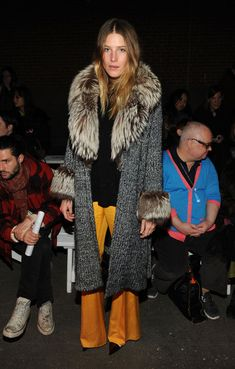 Dree Hemingway Photos - Dree Hemingway attends the Creatures of the Wind fall 2013 fashion show during Mercedes-Benz Fashion Week at Eyebeam on February 7, 2013 in New York City. - Creatures Of The Wind - Front Row - Fall 2013 Mercedes-Benz Fashion Week