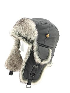 49ecdf95 FUR WINTER Taslon Faux Fur Aviator Bomber Trapper Hat CAC 23XL -- You can  find