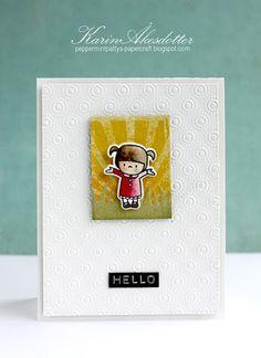 Peppermint Patty's Papercraft: Hello - Mama Elephant - Inspiration Emporium