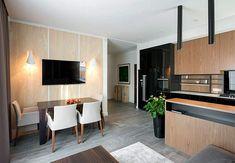 Fresh Design of Modern Urban Home by SVOYA Studio #dinningarea in open living interior